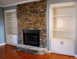 impressive stone veneer over brick fireplace riothorseroyale homes diy throughout stone veneer over brick fireplace popular
