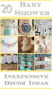 DIY Decorating Ideas for a Baby Shower · The Typical Mom