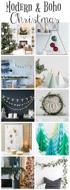 Free Diy Projects Modern Boho Christmas Style Series The Happy Housie