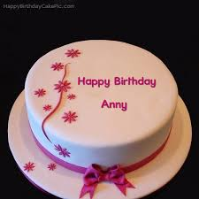 Birthday Cake Image With Name Edit Cakes Gallery