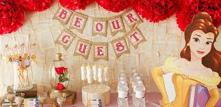 Belle Birthday Decorations Princess Belle Party Ideas Disney Party Ideas at Birthday in a Box 29