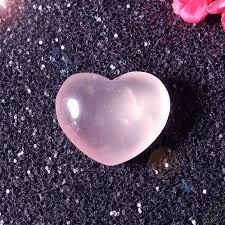 beautiful pink heart shaped quartz can be used to make the pendants