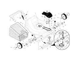 Craftsman model 917376166 walk behind lawnmower gas genuine parts on