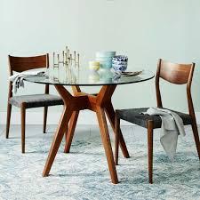 round glass top dining table regarding jensen west elm australia plan 6