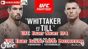 UFC Fight Night 174 Robert Whittaker vs ...