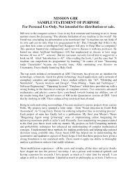 Statement Of Purpose Graduate School Example Goal Statement For Nurse Practitioner Graduate School