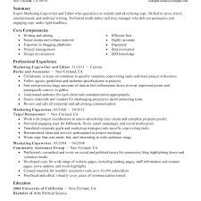 Sports Marketing Resume Samples Best Of Resume Objective Examples Sports Marketing With Resume Example