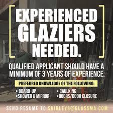 Modern Glazier Job Description Resume Illustration Documentation