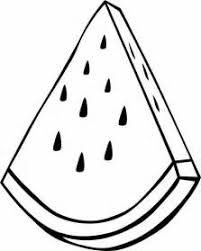 Small Picture Sliced Watermelon Fruit Coloring Pages bell rehwoldtcom