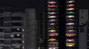 Automobile Vending Machine Cool Singapore's Supercar Vending Machine Elevates The Buying Experience