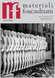 Materiali Foucaultiani Vi 11 12 By Materiali Foucaultiani Issuu