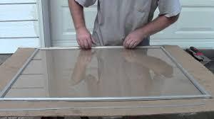 8 Pane Window Frame Replacing Storm Window Glass Youtube
