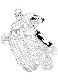 Spiderman Coloring Pages Printables Printable Coloring Pages