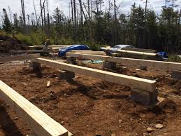 Pier And Beam Foundation Design How To Build A Rock Solid Low Cost Off Grid Cabin Foundation