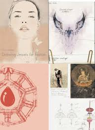 we have just added the lovely new jewelry reference book drawing