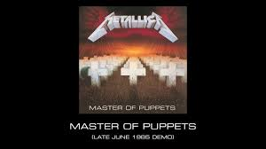 Master of Puppets (Late June 1985 Demo ...
