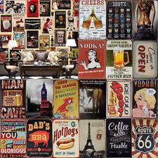home decor plaques hot metal tin signs vintage plaque club wall decor pub bar home shop p