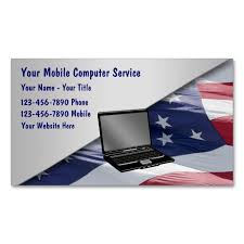Mobile Computer Repair Business Cards Zazzlecom Computer
