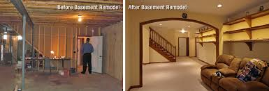 basement remodels before and after. Plain And Basement Remodels Before And After Basements   U2013 Unfinished Throughout