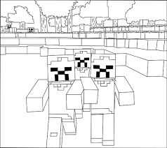 Small Picture Printable Minecraft Zombies coloring pages Coloring Kids
