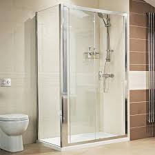 additional image for shower enclosure with sliding door 8mm glass 1200x760