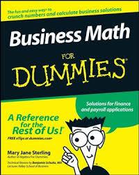 business math business math for dummies