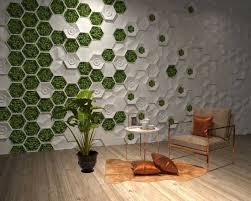 set of 5 pcs molds 3d decorative wall