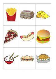 Food Flash Cards Food Flashcards Esl Worksheet By Lilivalley