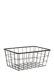 Image of Gourmet Home Small Signature Rounded Rectangle Metal Basket
