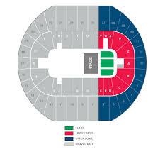 Pacific Coliseum Vancouver Seating Chart Pacific Coliseum