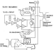 circuit diagram of solar inverter for home how solar inverter works inverter circuit schematic