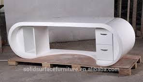 curved office desk furniture. high gloss office desk white mia modern in h intended decor curved furniture