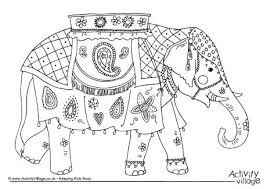 Small Picture India Colouring Pages