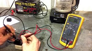Blower motor resistor test - YouTube