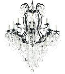 wrought iron crystal chandeliers glamorous iron and crystal chandeliers wrought iron chandelier black iron chandeliers with