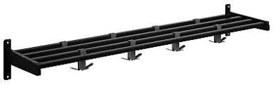 Magnuson Group Coat Rack MAGNUSON GROUP Hook Style Coat Rack with Aluminum Shelf Bars EUR 57