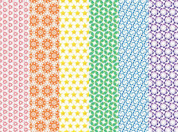 Colorful Patterns Enchanting Colorful Vector Patterns Vector Art Graphics Freevector