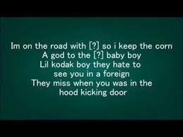 Bugatti is a song by american hip hop recording artist ace hood. Kodak Black Tunnel Vision Lyric Full Song Kodak Black Lil Kodak Kodak