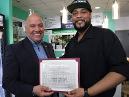 Merles Whirls Chef Albert Teekasingh Recieves Citation From