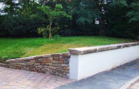 cheshire driveway garden wall front
