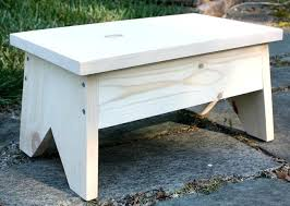 wood foot stool wooden footstool learn how to make your own unfinished wood footstool