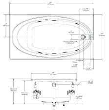 dimensions of a bathtub what is the standard size of a bathtub tub dimensions standard corner