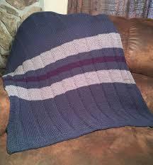 Loom Knitting Patterns Blanket Interesting Decoration