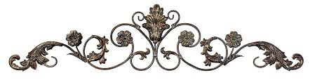 classic country scroll metal wall art small metal wall scrolls classic country scroll metal wall art