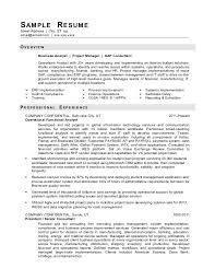 Gallery Of Sample It Resume From Redrocketresume Example It Resume