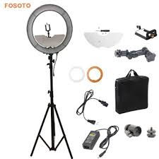 makeup light stand. fosoto 240 led ring light with 2.8m stand and mirror makeup a