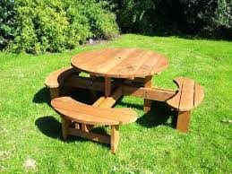 round picnic benches round 8 heavy duty commercial grade picnic table picnic bench bq picnic