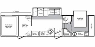 2009 keystone raptor 3612ds floorplan view floorplan
