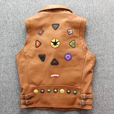 harley damson black men short genuine biker s leather vest plus size l thick cowhide slim fit motorcycle leather vest