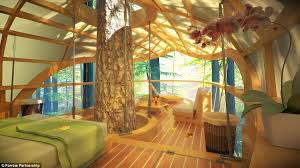 luxurious tree house. A Luxurious Tree House T